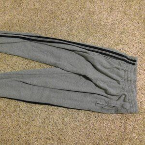Grey Brandy Melville striped sweats